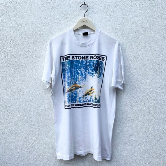 """RARE Vintage The Stone Roses """"What The World Is Wa"""