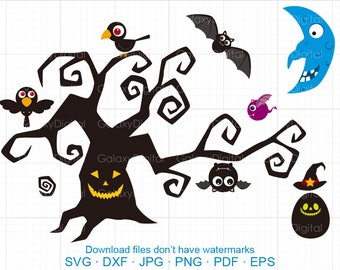 Halloween Witch Broom Svg Broom Clipart Svg Dxf Silhouette Etsy