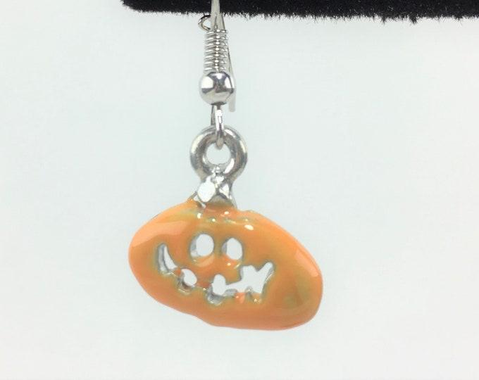 HLWN252 - Pumpkin Earrings