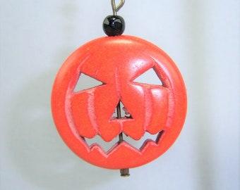 HLWN314 - Pumpkin Earrings