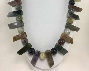 N468 - Agate Necklace