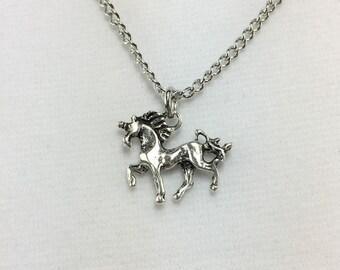 G455 - Unicorn Girls Necklace