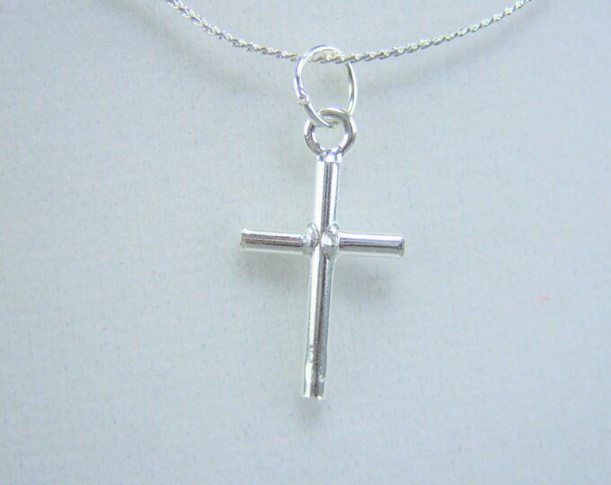 N374 - Cross, Sterling Silver, Necklace