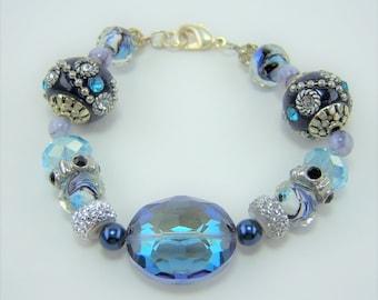 B028 - Chunky Bead Bracelet