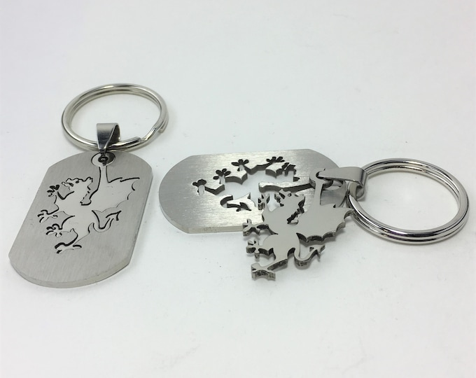 K567 - Griffin Stainless Steel Key Chain