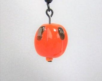 HLWN272 - Pumpkin Earrings