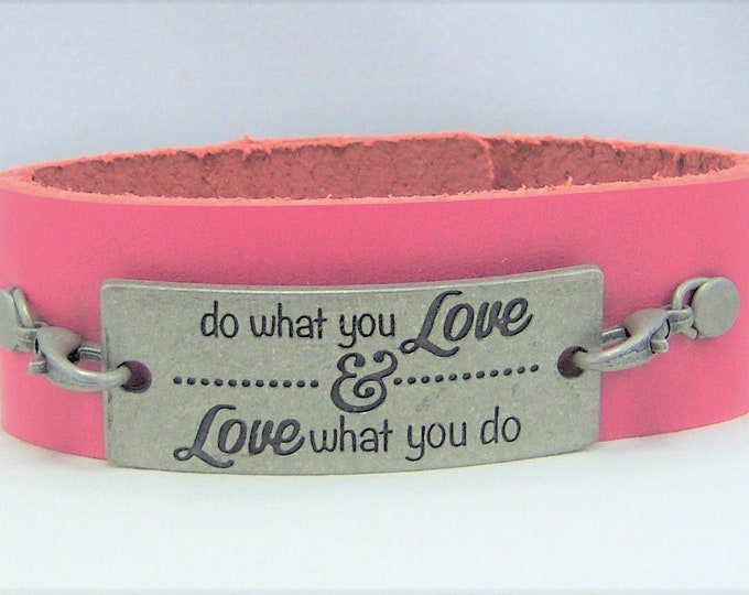 B358 - Leather Cuff Bracelet