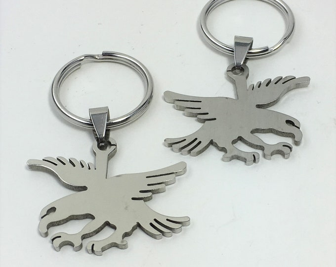 K560 - Eagle Stainless Steel Key Chain