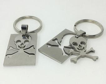 K582 - Skull Stainless Steel Key Chain
