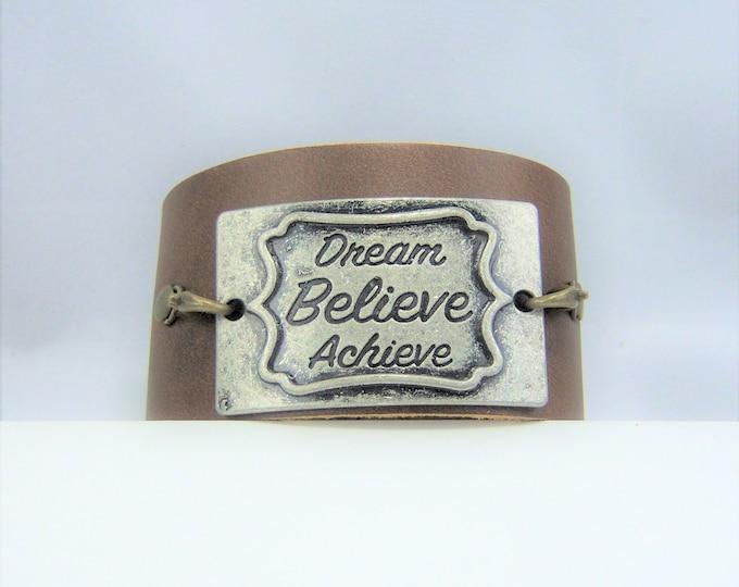 B359 - Leather Cuff Bracelet