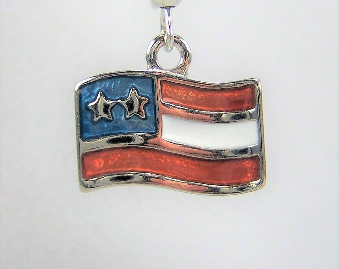 PE246 - Flag Earrings