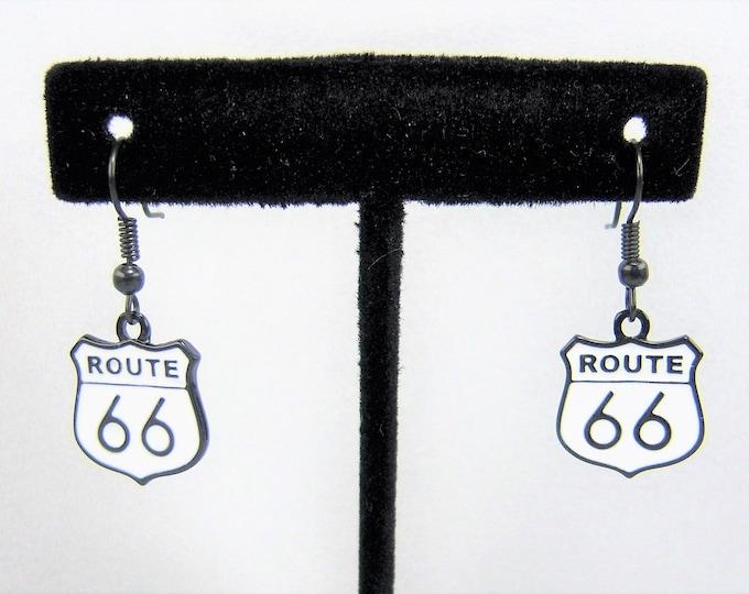 E270 - Route 66 Earrings