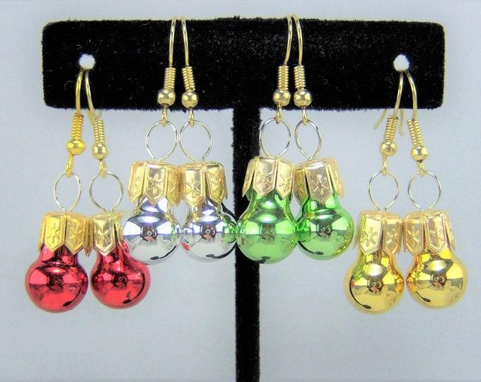 XMAS378 - Christmas Ornament Earrings