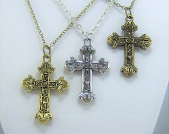 N308 - Cross Necklace
