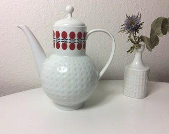 Bauhaus Porcelain Design Prof Arzberg BLAUBL\u00dcTE Set Coffee Poter Coffee Pose Milk /& Sugar Gretsch 1930s Blue Flowers from Bavaria