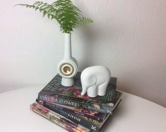Mitte Jahrhundert Modern Porzellan Elefant Sgrafo Modern Stilvoll Figur  60er Jahre Vintage