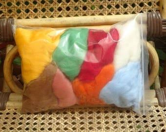 Merino wool toppings for felting