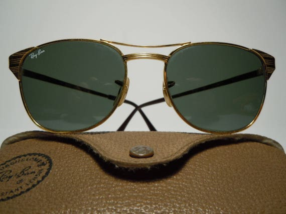 RAY BAN SIGNET Vintage 80 s by Bausch   Lomb U.S.A. with   Etsy 007eebbf2f3e