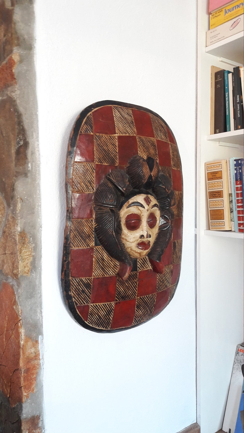 African Punu shield Gabon