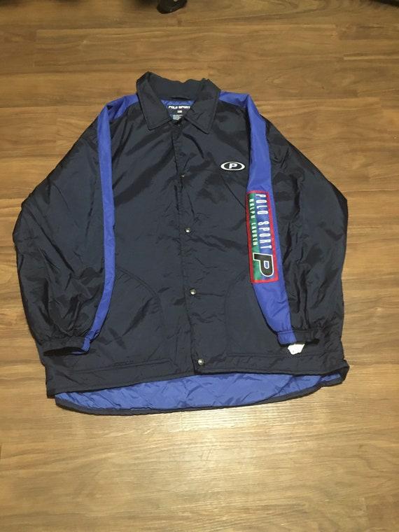 Polo Sport Coach Jacket Sz Xl