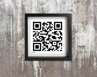 QR Code: One pixel at a time...