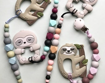Sloth teething toys ae0ebc42b