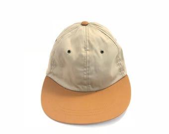 vintage 90s pacific northwest dad hat GOLD   tan seinfeld style baseball cap 80284b8e25c9