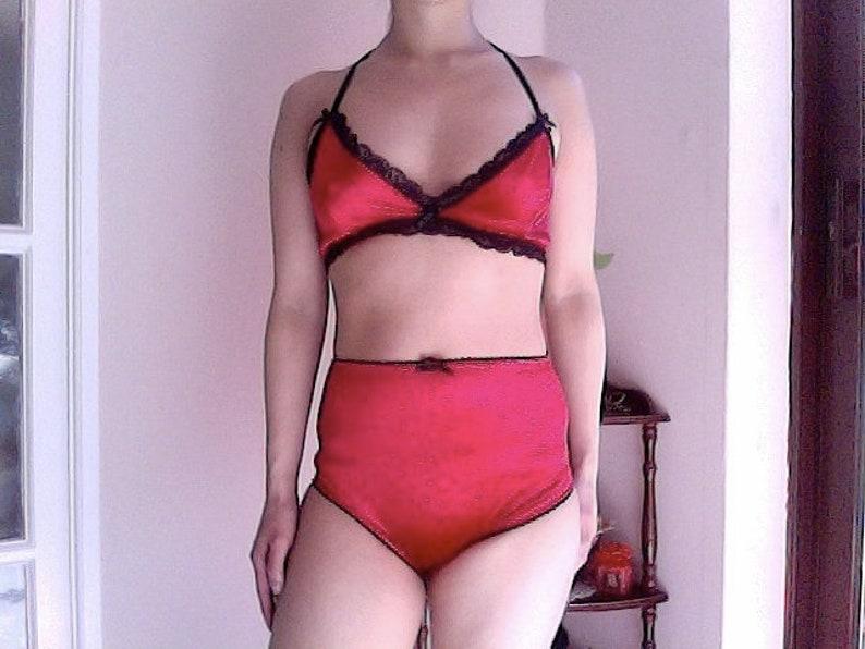 a6f3b14ecd Red velvet bralette velvet soft cup red bralette lace