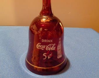 "Coke Cola Dinner Bell ""Drink Coca Cola"""