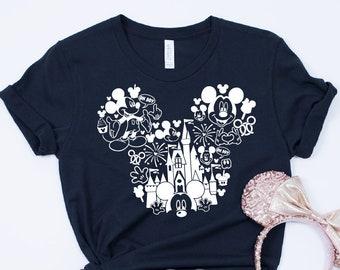648c24bae Mickey Mouse T-shirt, Disney T-shirt, Mickey Shirt, Disney Land T-shirt,  Disney Blogger Shirt, Disney Land Shirt, Mickey Snacks Shirt A0007