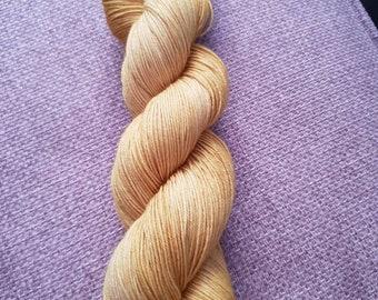 Harvest festival /hand dyed 4ply yarn, 75/25 Superwash merino, nylon