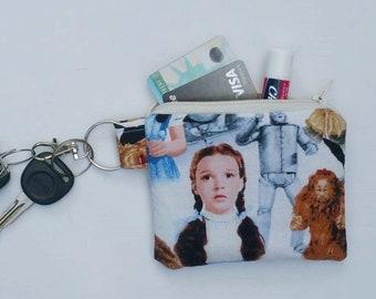 Wizard of Oz mini wallet, Wizard of Oz keychain