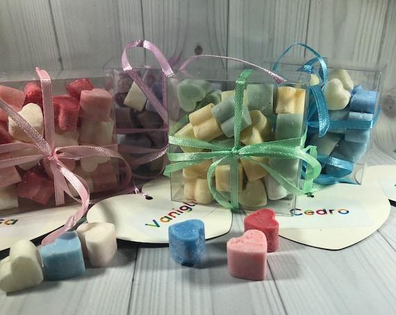 30 tartine da fondere nel bruciaessenze a forma di cuoricino in cera di soia idea regalo per compleanni anniversari regalo di natale tart