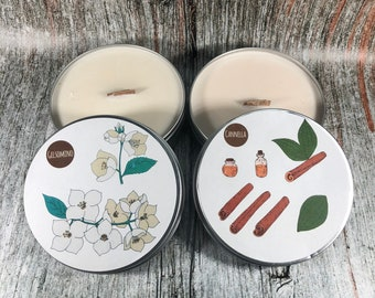 2 candele profumatissime in cera di soia con oli essenziali 20 profumazioni diverse da scegliere ecologiche e naturali idea regalo