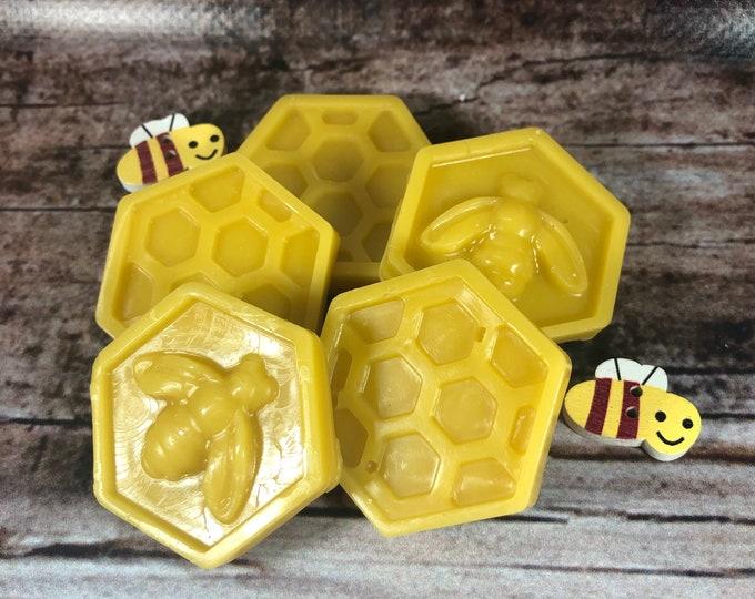 5 tartine da fondere nel bruciaessenze in cera d'api profumata al miele idea regalo per compleanni anniversari regalo di natale tart