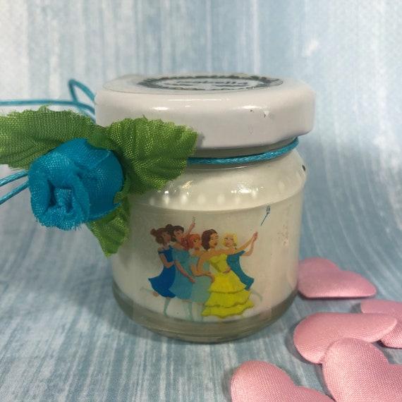 10 mini candele addio al nubilato ricordo regalo per gli ospiti in cera di soia e oli essenziali omaggio di fine festa
