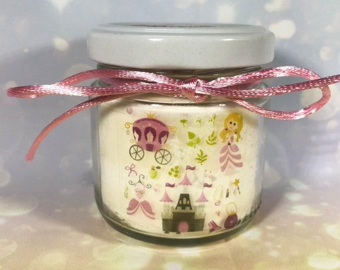 Comunione Cresima Battesimo 25 candele di cera di soia bomboniere Sirenette Principesse Fiabe Bomboniera Segnaposto ricordo ospiti