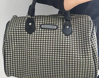 dd582f36fe9e Ralph Lauren houndstooth satchel
