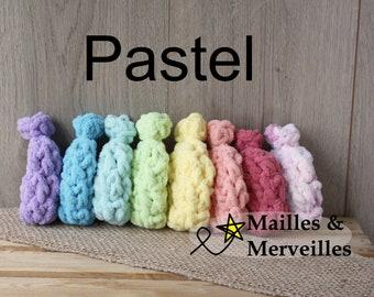 Ballons d'eau écologique PASTEL en ensemble de (8) avec option sac de rangement jouet enfant adulte 8 couleurs différente zéro déchets