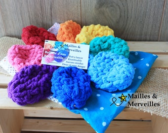 Ballons d'eau écologique ARC-EN-CIEL en ensemble de (8) avec option sac de rangement jouet enfant adulte 8 couleurs différente zéro déchets