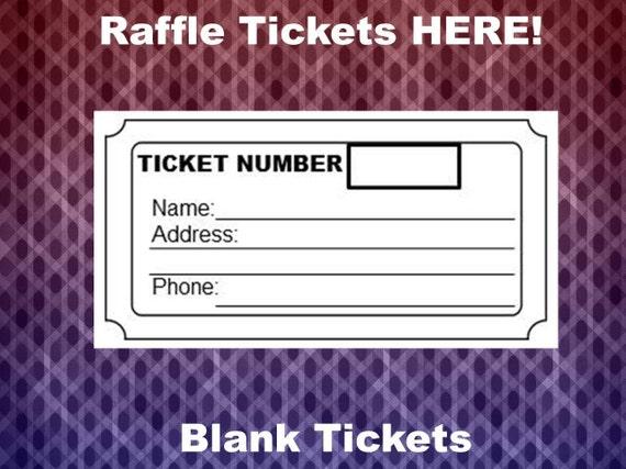 Raffle Ticket Template Blank Raffle Tickets Per Page Party - Templates for raffle tickets 8 per page