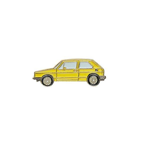 Volvo 240 Sedan Enamel Pin-BLACK-Lapel Pin-Hat Pin-90s 80s 70s Nostalgia Pin-Pin Badge-Retro Pin-Car Pin-Jacket Pin