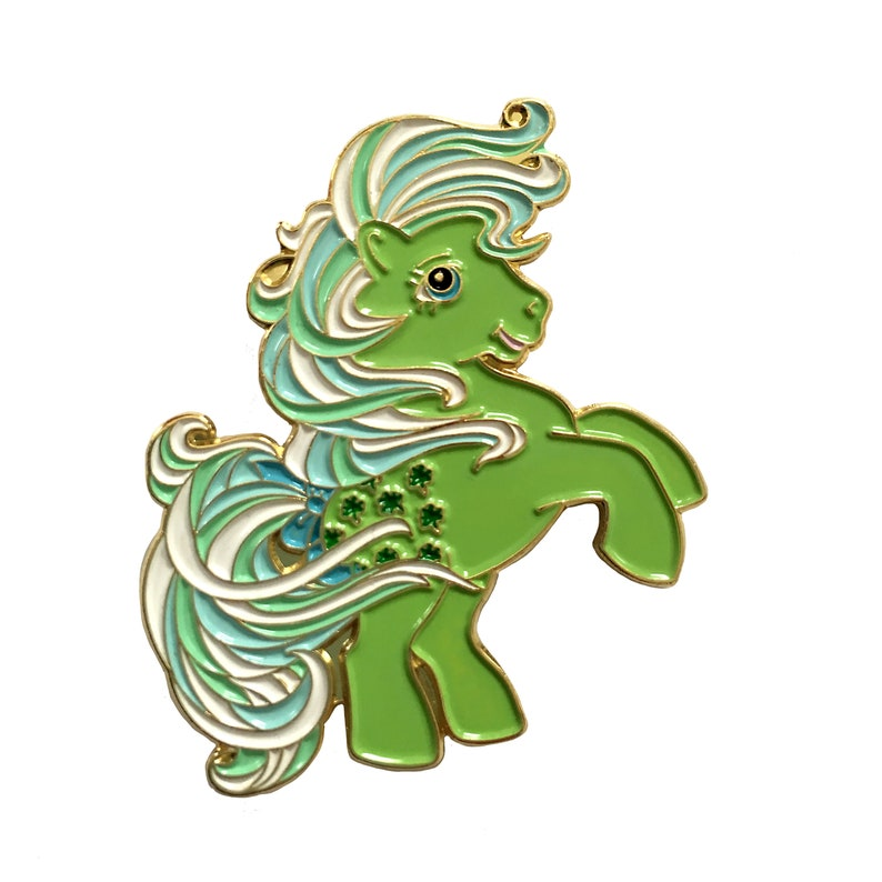 My Little Pony Enamel Pin Minty Generation 1 G1 Lapel Etsy