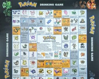 Pokemon Drinking Game
