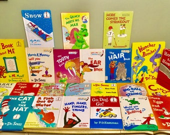 When I say Doctor you say Seuss! Dr. Seuss Assorted Book Lot