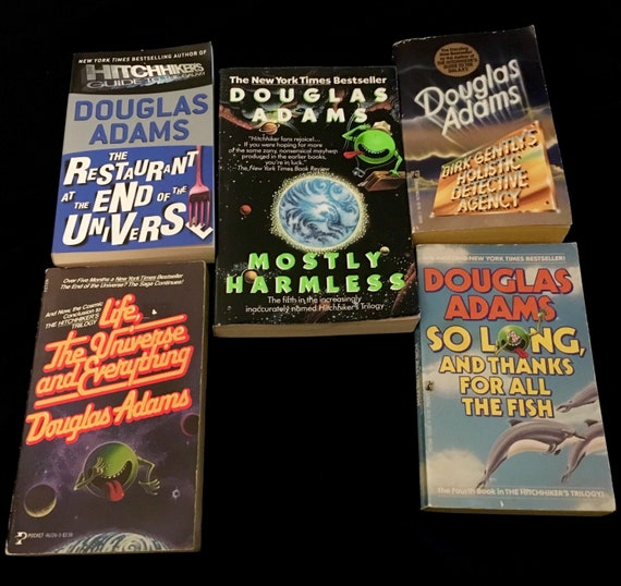 Image result for douglas adams book cover""