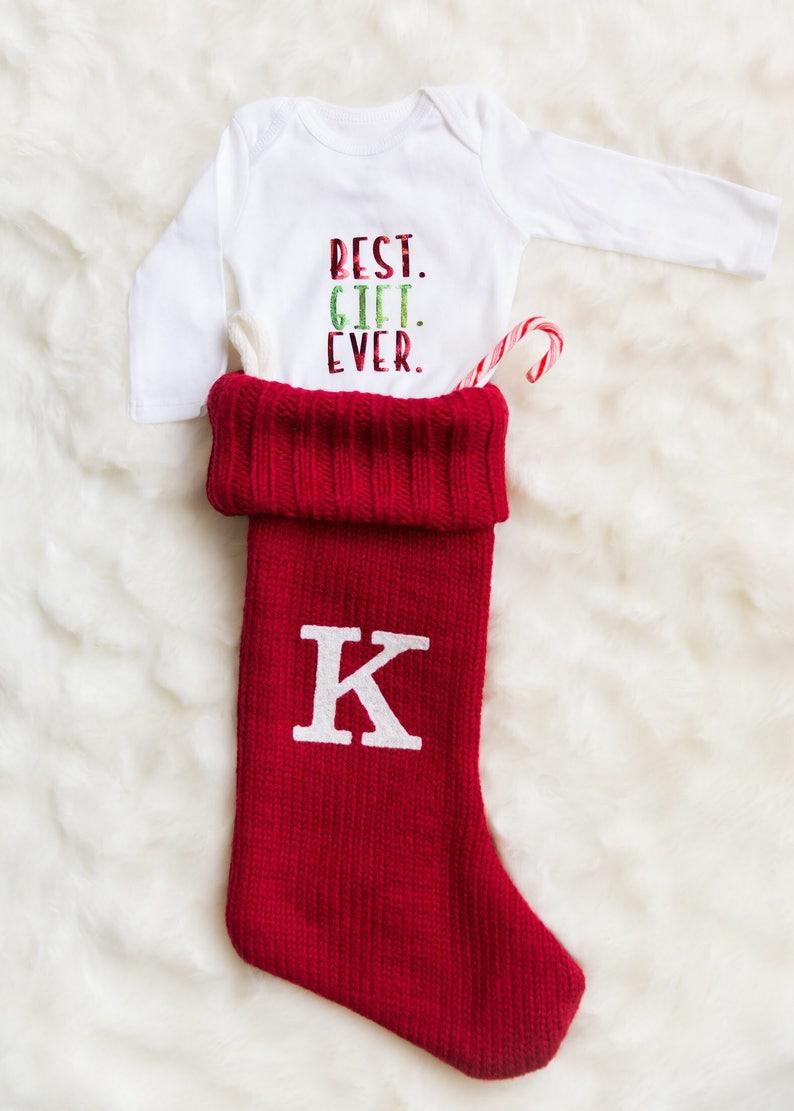 Best Gift Ever Onesie Christmas Onesie Custom Onesie Baby ...