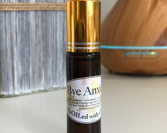 Bye Anxiety Essential Oil Roller Ball Blend