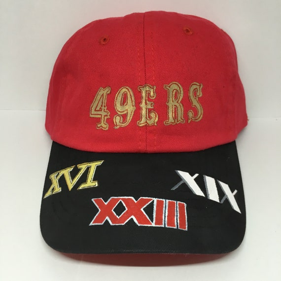 10d1700736e65 San Francisco 49ers 5X Super Bowl Dad Hat