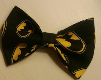 Batman bow, hairbow or bowtie